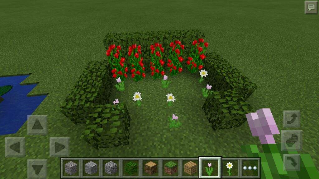 10 Minecraft Garden Ideas Mcpe 0 14