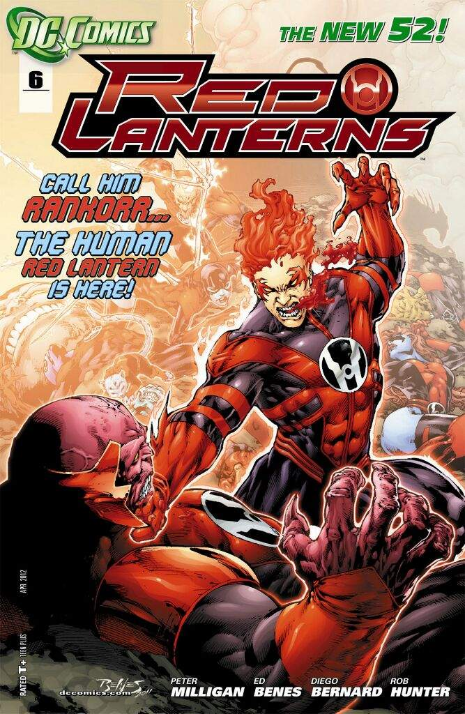 So Much That The Red Lanterns Achieved Their Own Comic Title With DCs New 52 Range