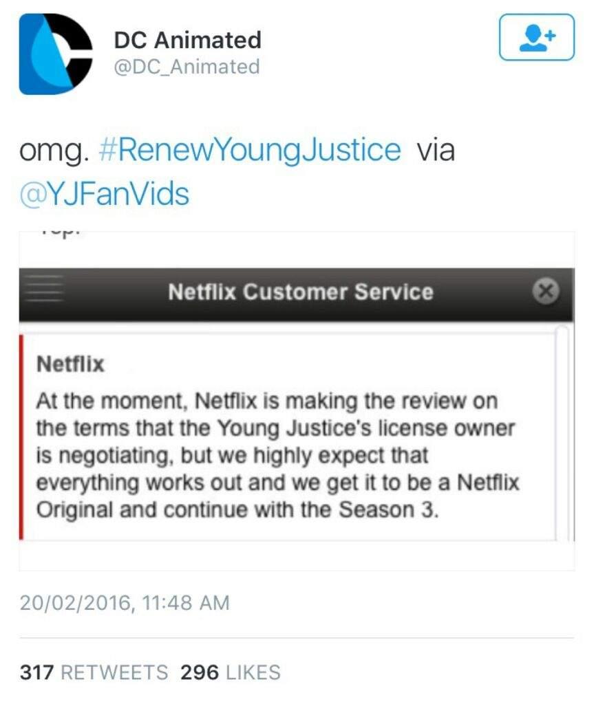 Young Justice Season 3?! | Cartoon Amino