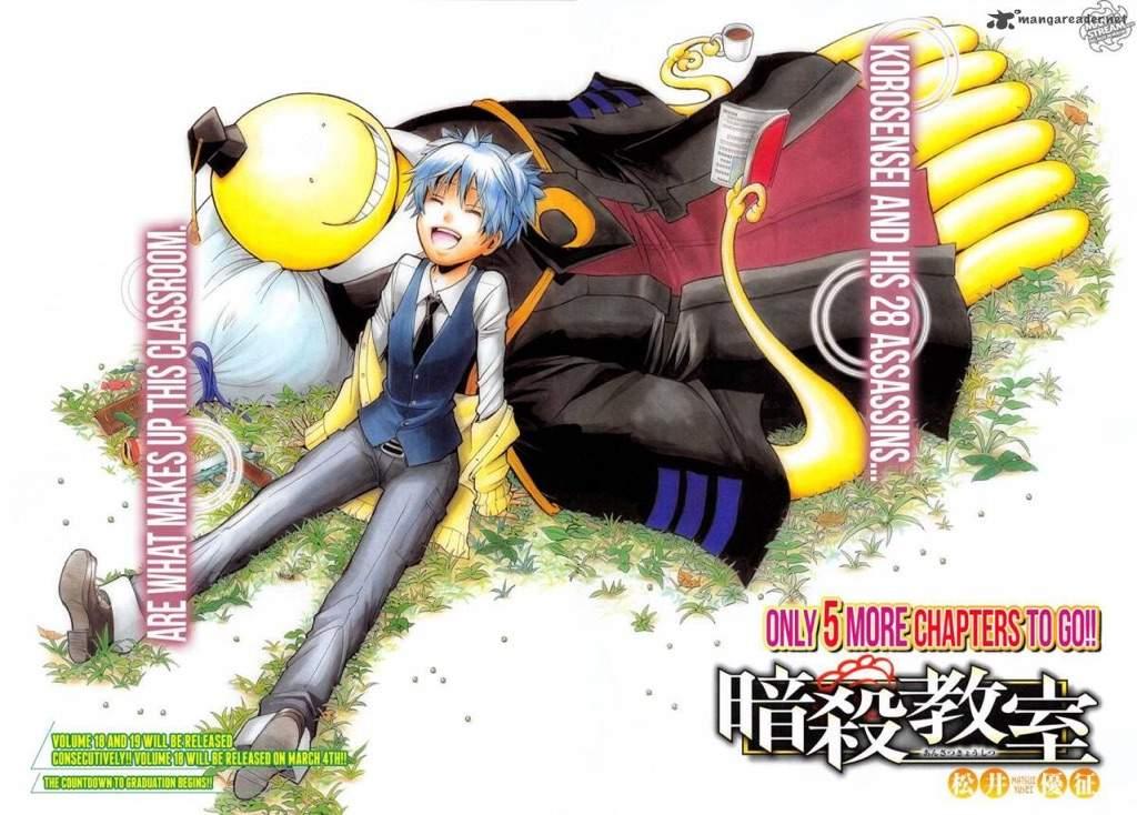 Assassination Classroom Anime's 2nd Season to Cover Manga's