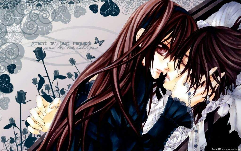The Artwork Is Beautiful And Unique Which A Shame Because This Show So Crap I Hate Love Triangle Stories Couple That With Two Vampires