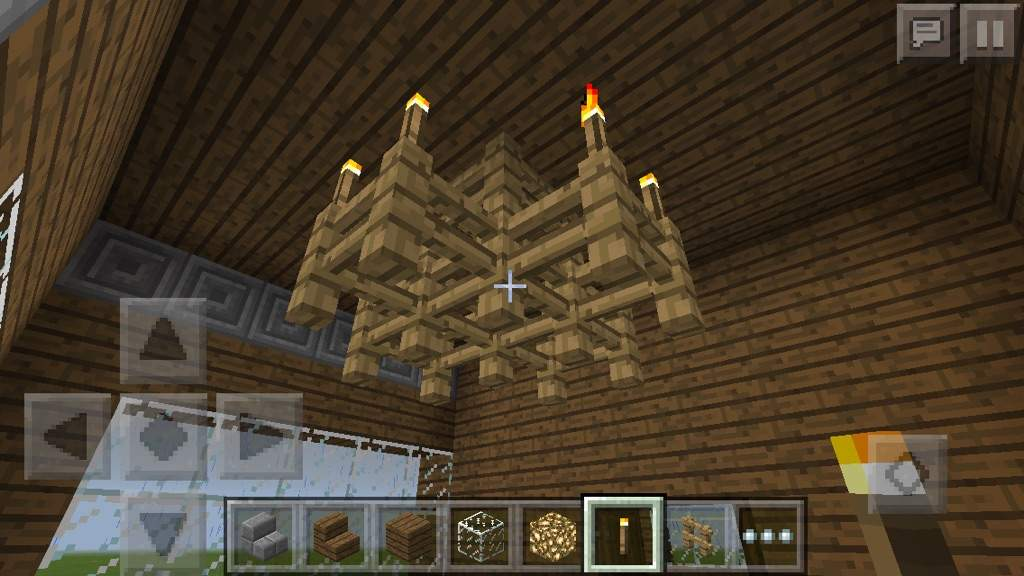 How To Build A Small Chandelier In Minecraft Musethecollective