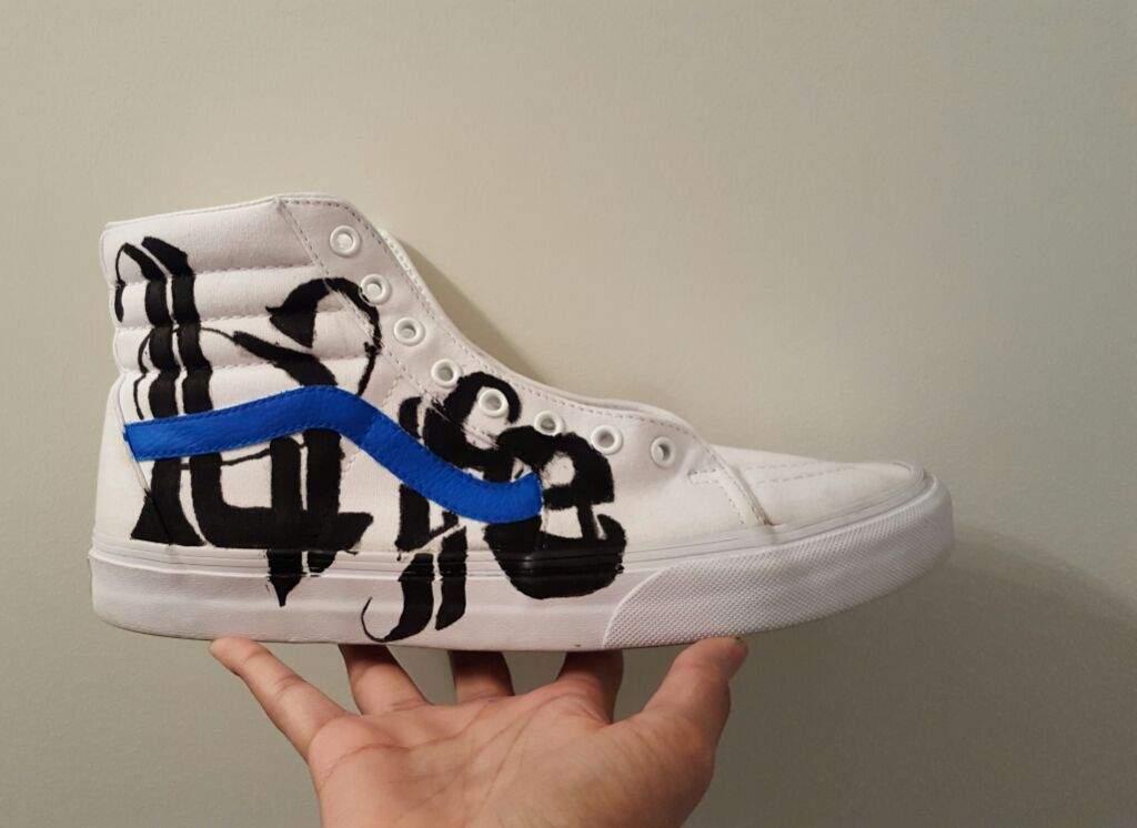Vans Sk8 Hi custom | Sneakerheads Amino