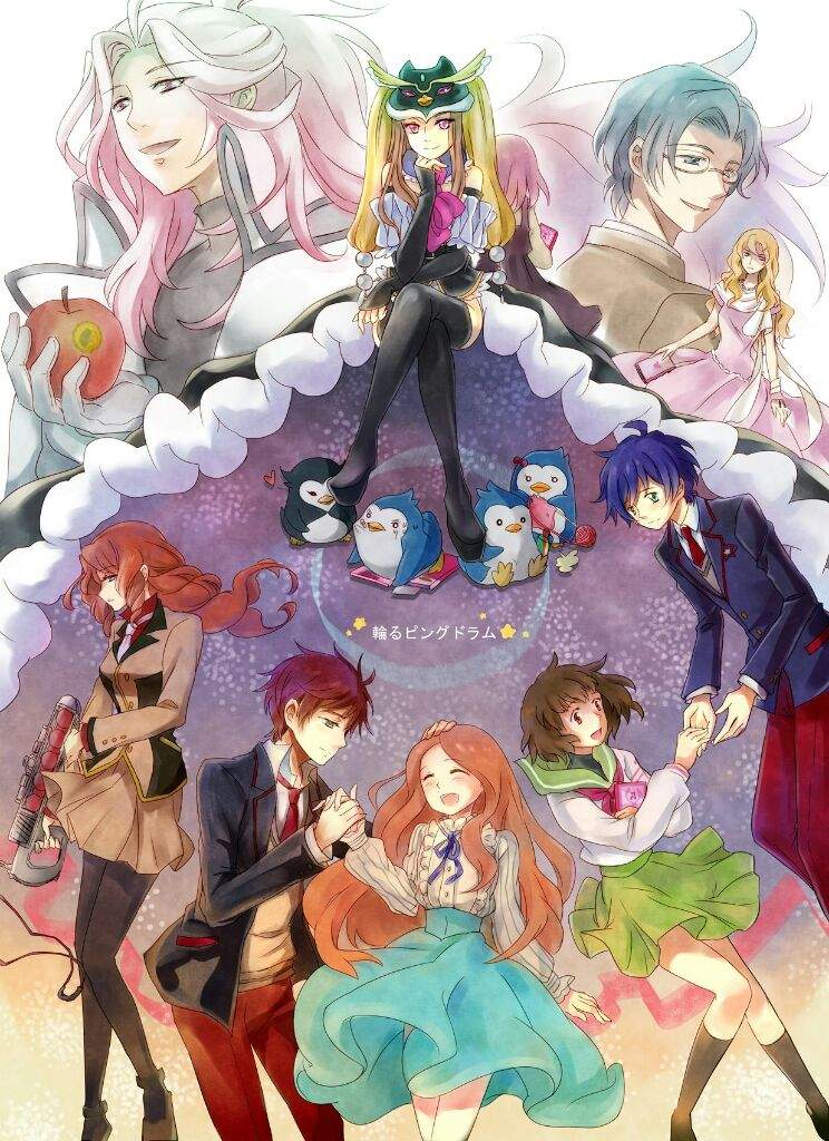 The Red Apple And The Starving Penguins Mawaru Penguindrum