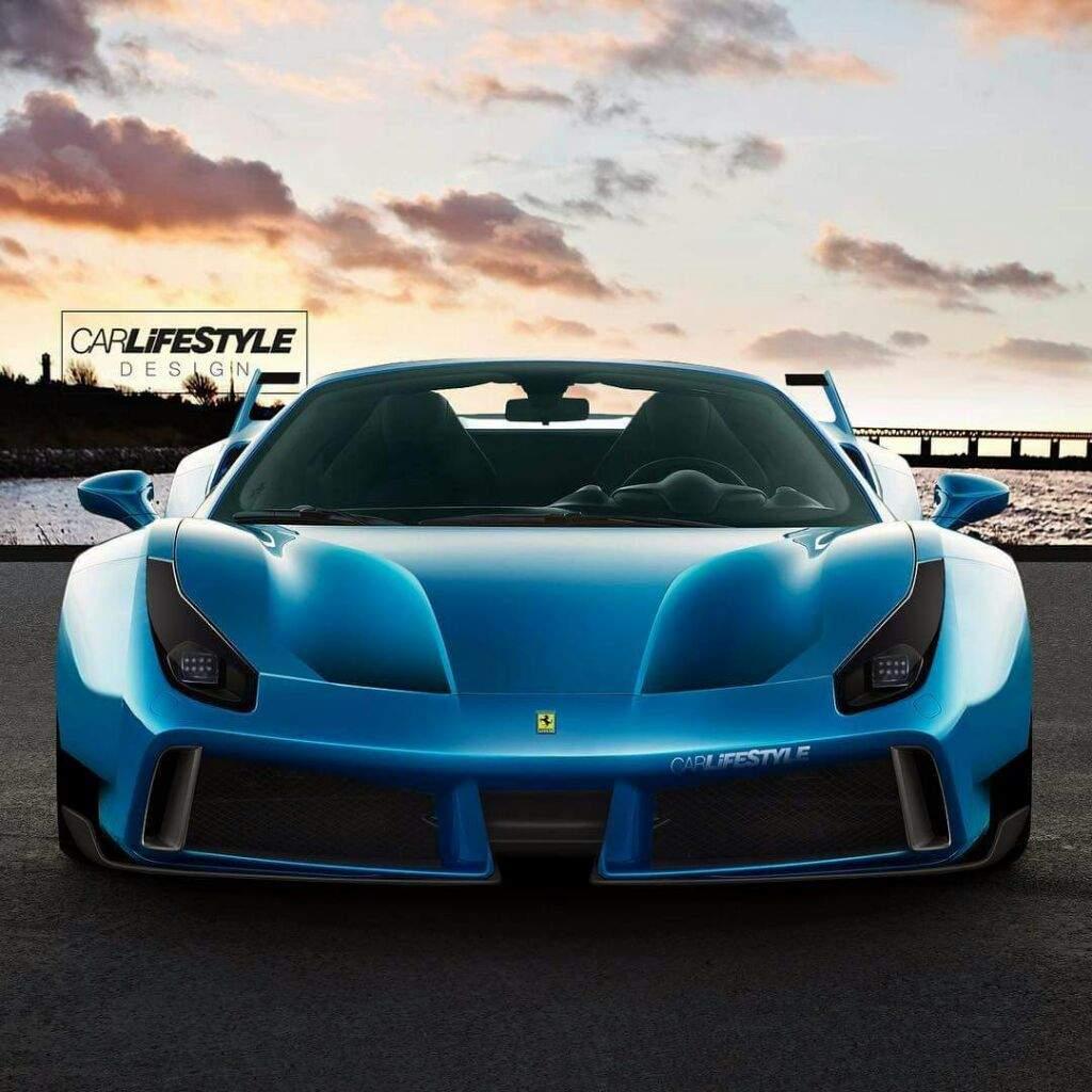 Ferrari Designer: Ferrari 488!!