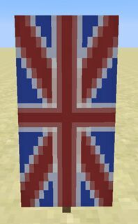 Pc How To Make Union Jack Banner Shield Minecraft Amino