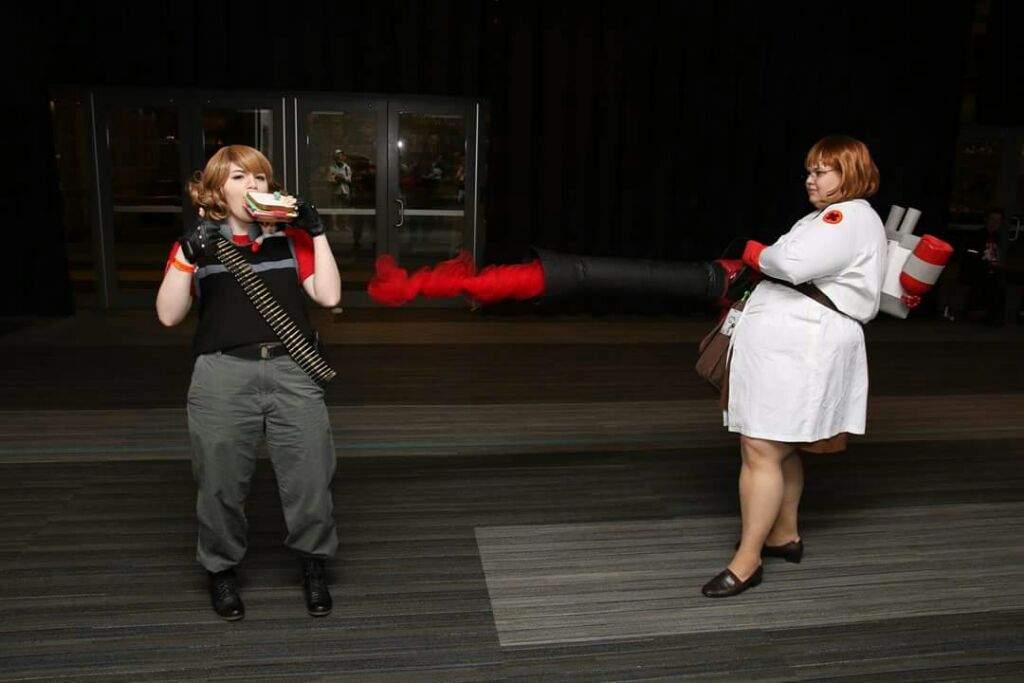 heavy weapons guy cosplay amino