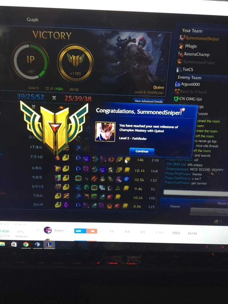 Quinn Mastery 5 League Of Legends Official Amino