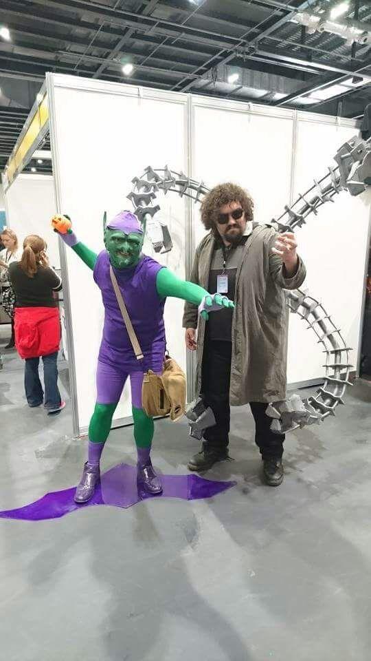 Lscc Doc Ock And Green Goblin Cosplay Amino