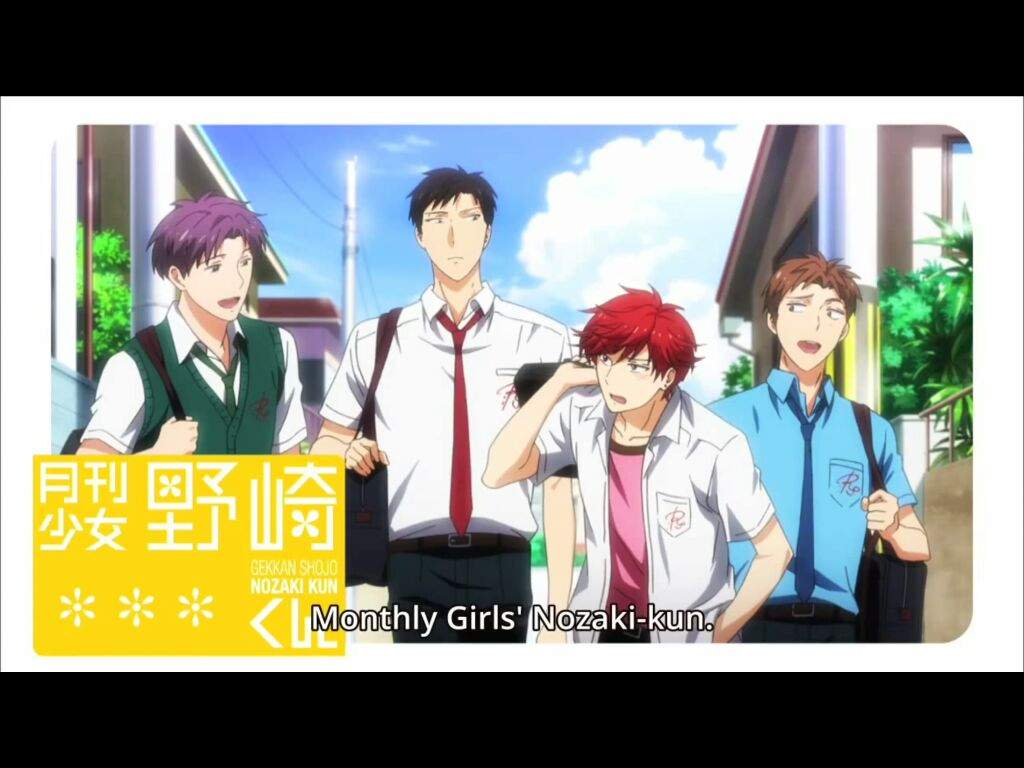 Monthly Girls Nozaki Kun Or Gekkan Shoujo Nozaki Kun Anime Amino