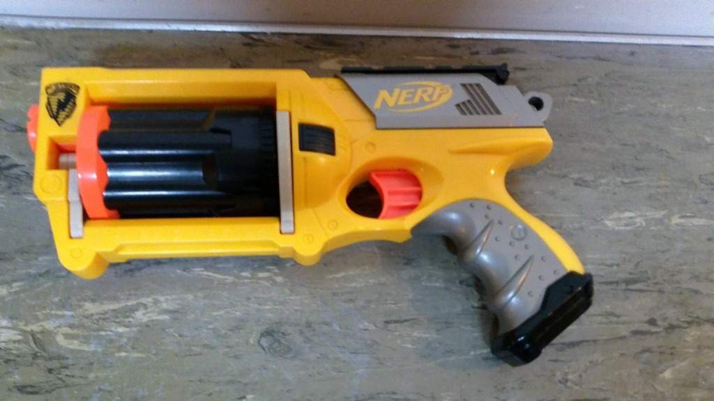 Modded nerf guns for sale on ebay! I'll mod them just for you. Look inside.  Answered