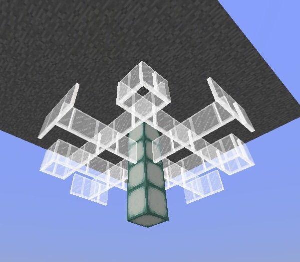 Crystal Chandelier Tutorial Minecraft Amino