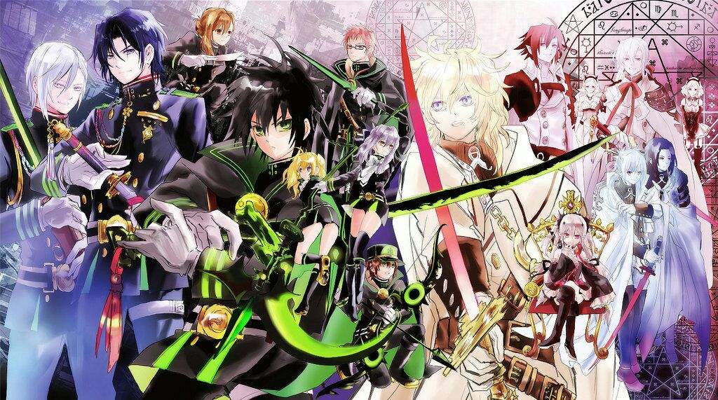 seraph of the end review owari no seraph anime amino
