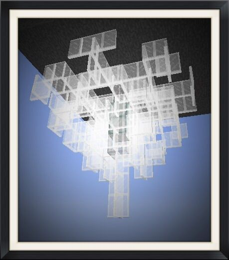 Crystal chandelier tutorial minecraft amino aloadofball Image collections