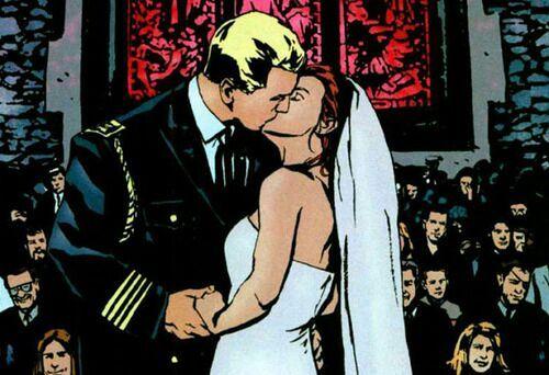 Steven Rogers and Natasha Stark ?on Earth-3490