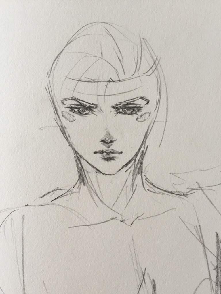 Step by step: Drawing Caesar Zeppeli (JJBA)   Anime Amino