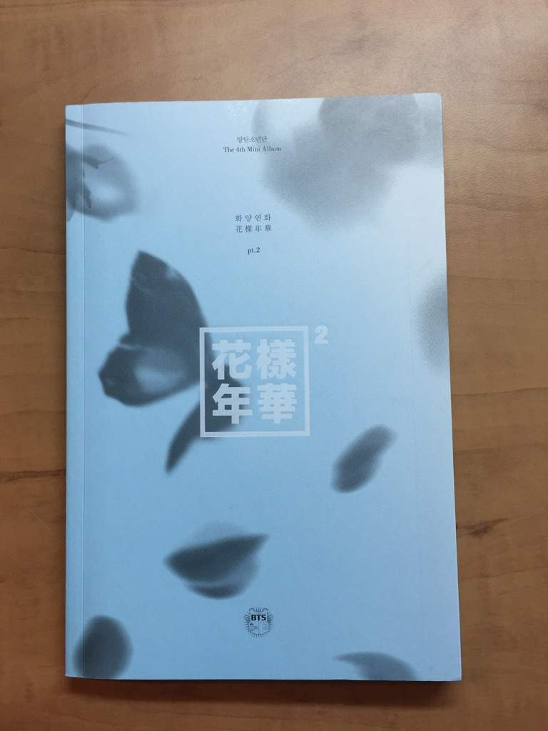 Unboxing Bts The Most Beautiful Moment In Life Pt 2 4th Mini Album Blue Ver K Pop Amino