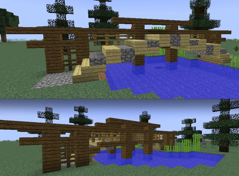 hope this helps with your japanese themed gardens in minecraft - Minecraft Japanese Bridge