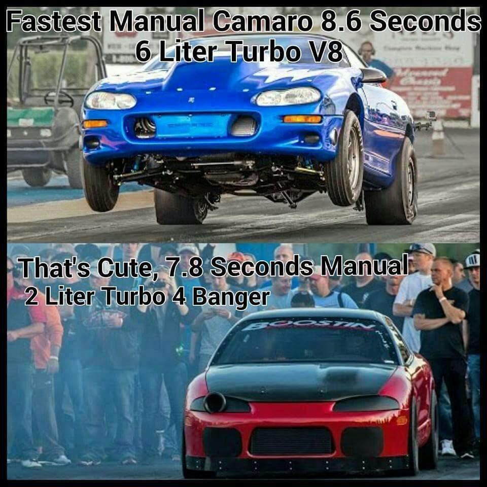 V8 vs 4 cylinders | Garage Amino