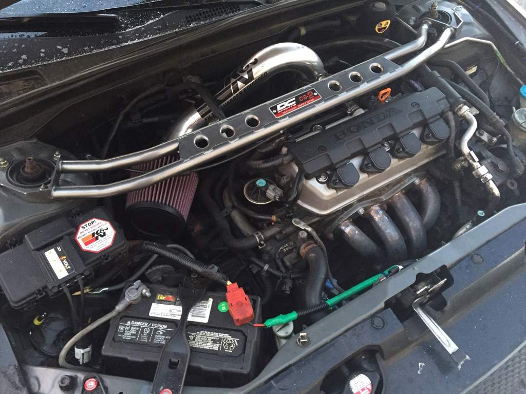 Engine Bay Of My 7th Gen Civic Garage Amino