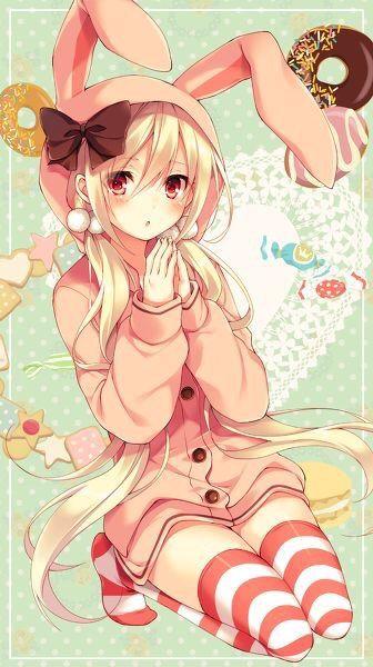 kawaii bunny girl anime amino