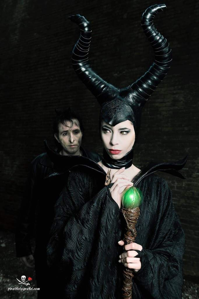 Maleficent And Diaval Cosplay Amino