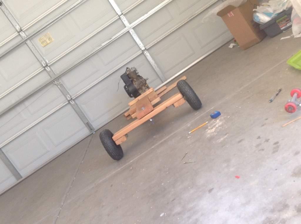 Wood Go Kart Build Part 5 | Garage Amino