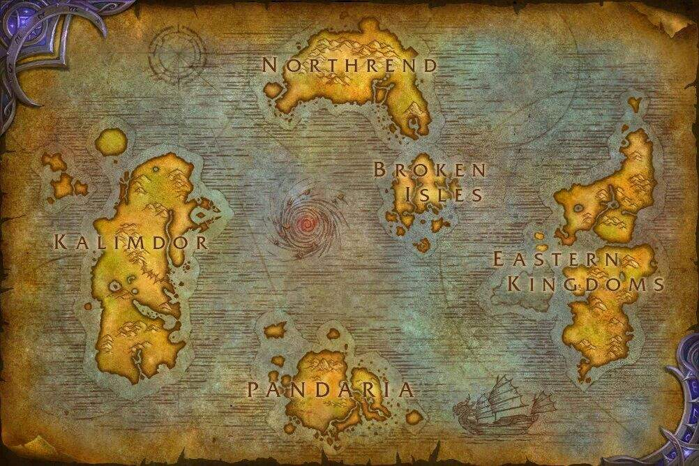 Legion World Map.Legion World Map Wow Amino