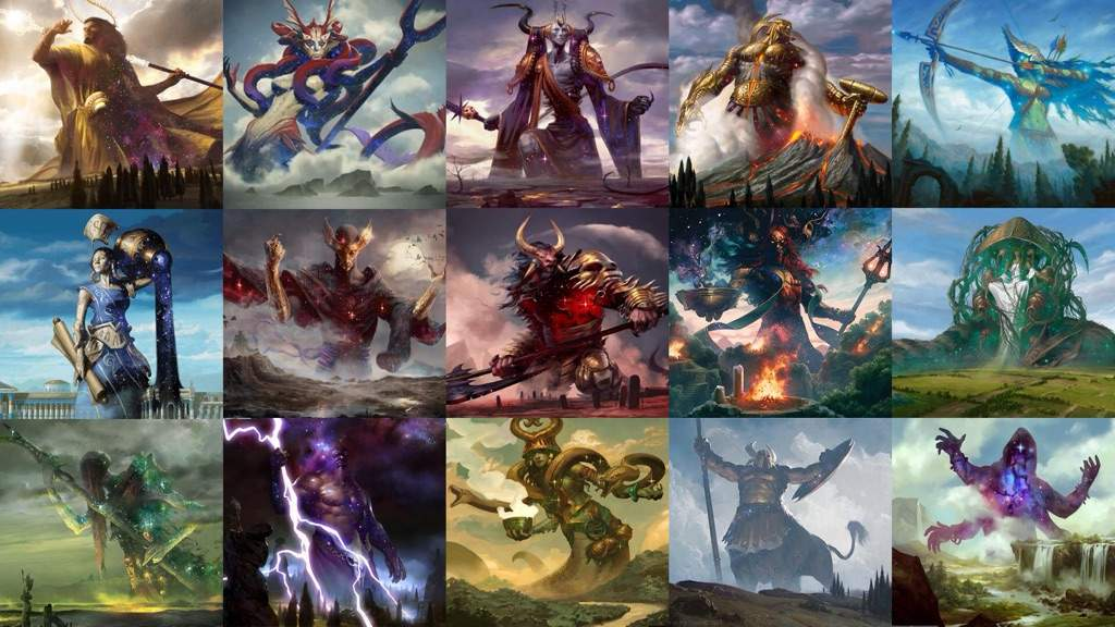 Which Theros God Would You Devote Your Worship To Mtg Amino