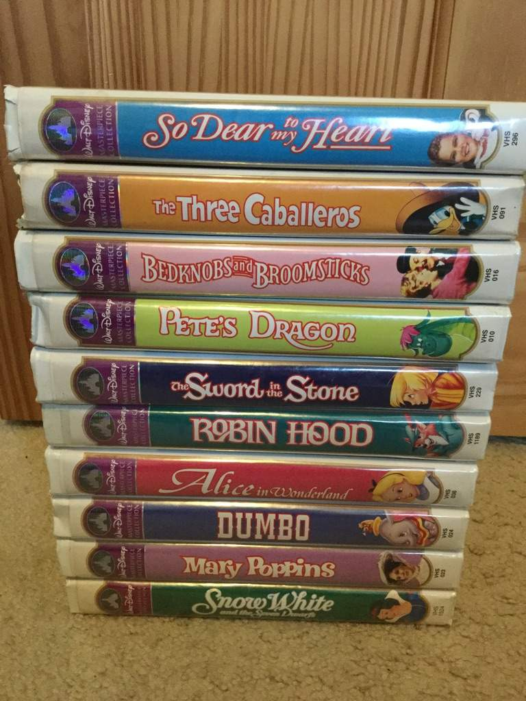 A look at my disney vhs and dvd collection part 1 for House music classics 2000