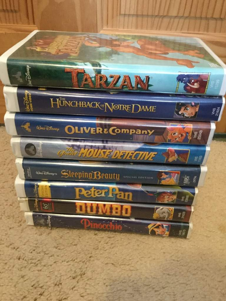 A look at my disney vhs and dvd collection part 2 for House classics 2000