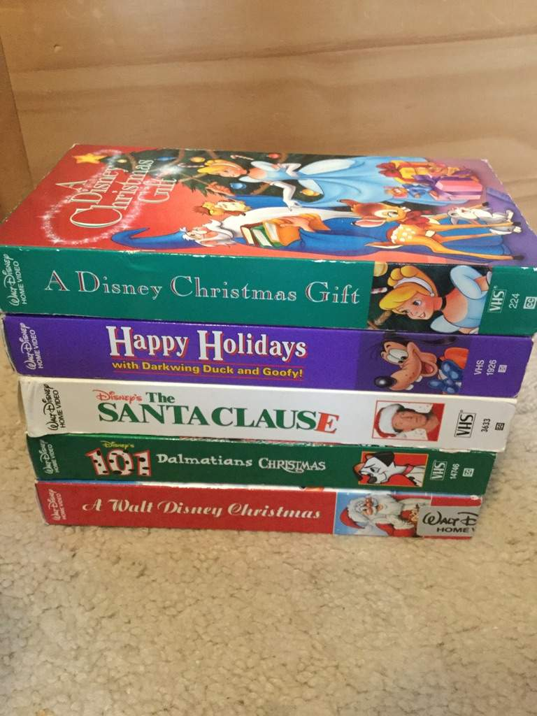 A Disney Christmas Gift Dvd.A Look At My Disney Vhs And Dvd Collection Part 1