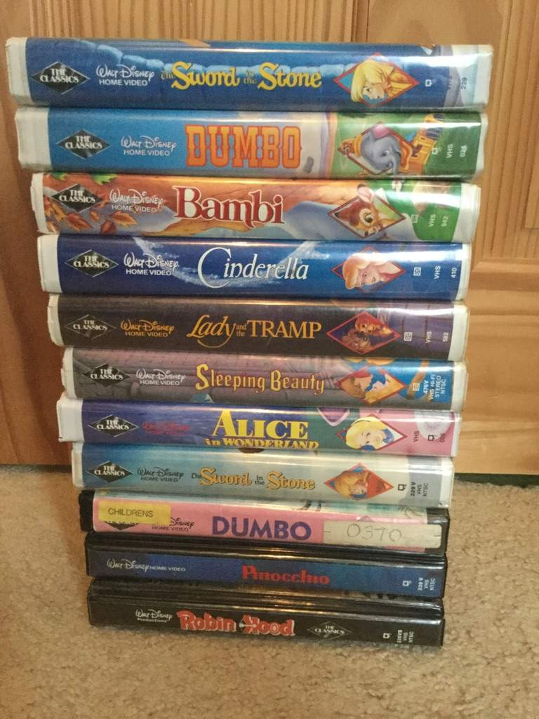 A look at my disney vhs and dvd collection part 1 for House classics 2000
