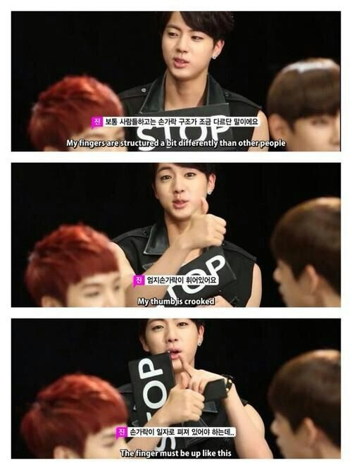 Jin S Hands Appreciation Idols With Medical Conditions