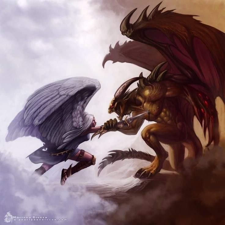 Angels Vs Demons Mtg