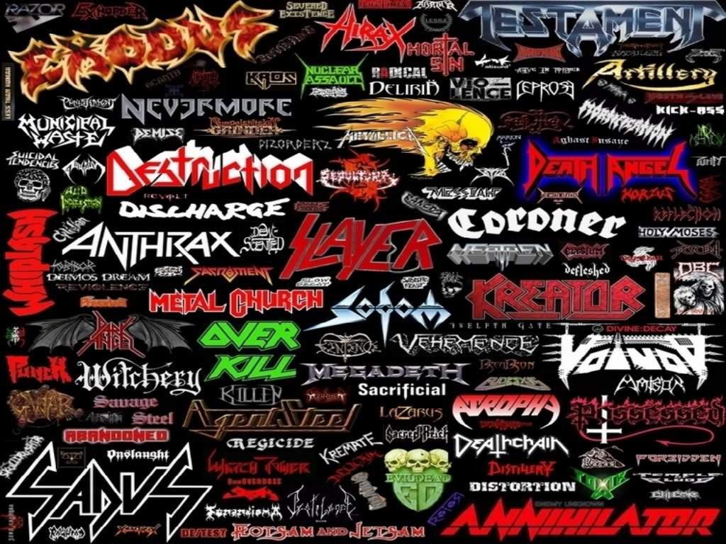 Metal 80er bands thrash VMF14