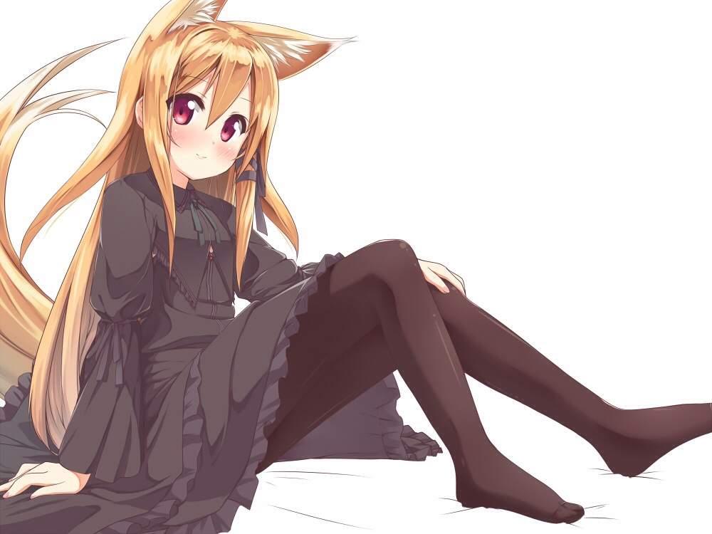Anime Cat Hybrid Girl