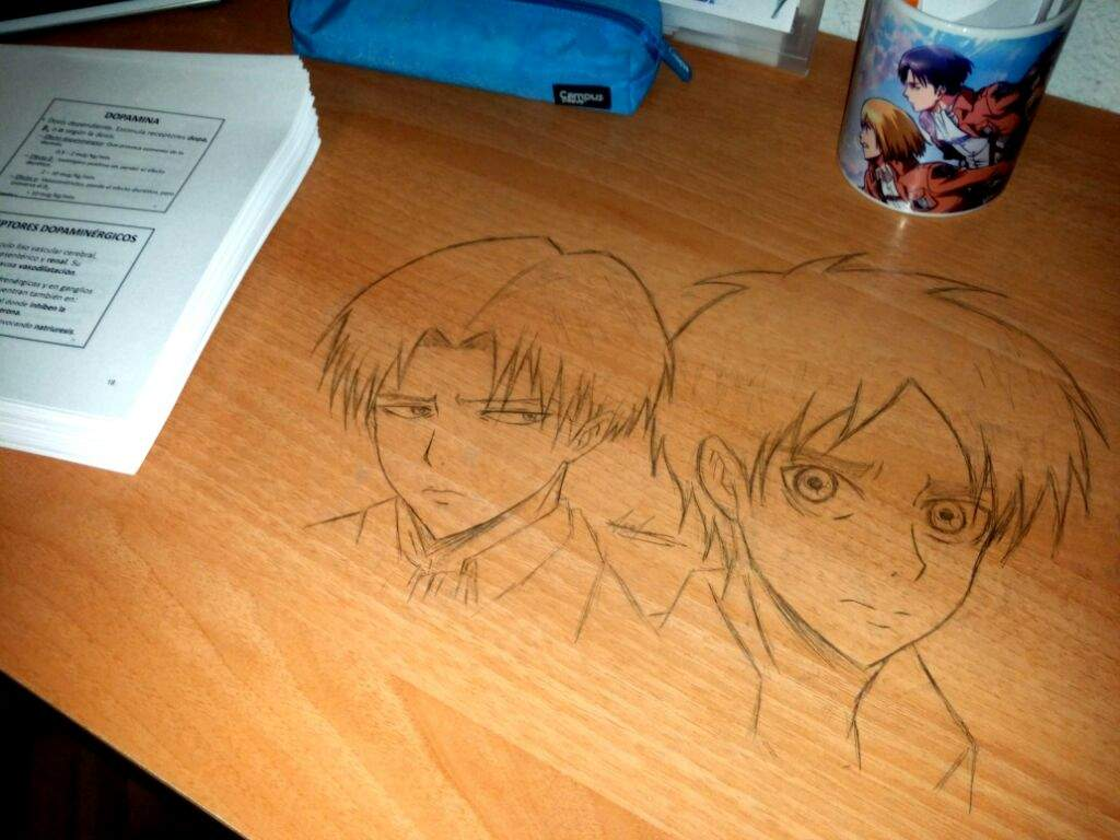 Desk Drawings Anime Amino