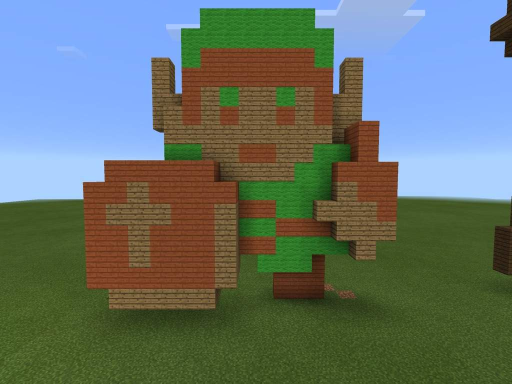 This For My Zelda Builds In Minecraft And Were You Can See All Of Them That  I Made That All 3D Builds.