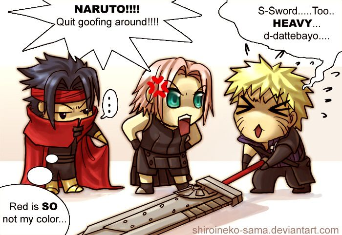 Naruto X Final Fantasy 7 Video