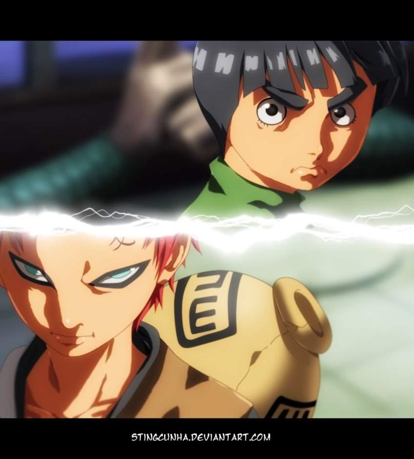 This Arc Revealed So Many New Naruto Characters And Gave Us Some Amazing Fights Like Garaa Vs Lee Sasuke Vs Garaa Naruto Vs Neji It Was Insane To Me