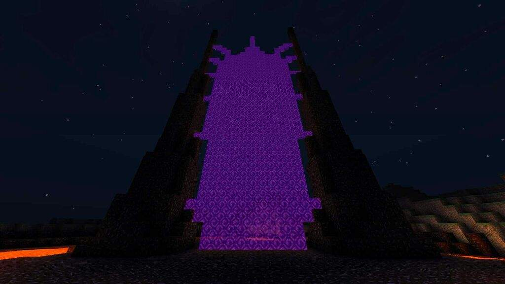That Scary Nether Portal ╰ ╯ Minecraft Amino
