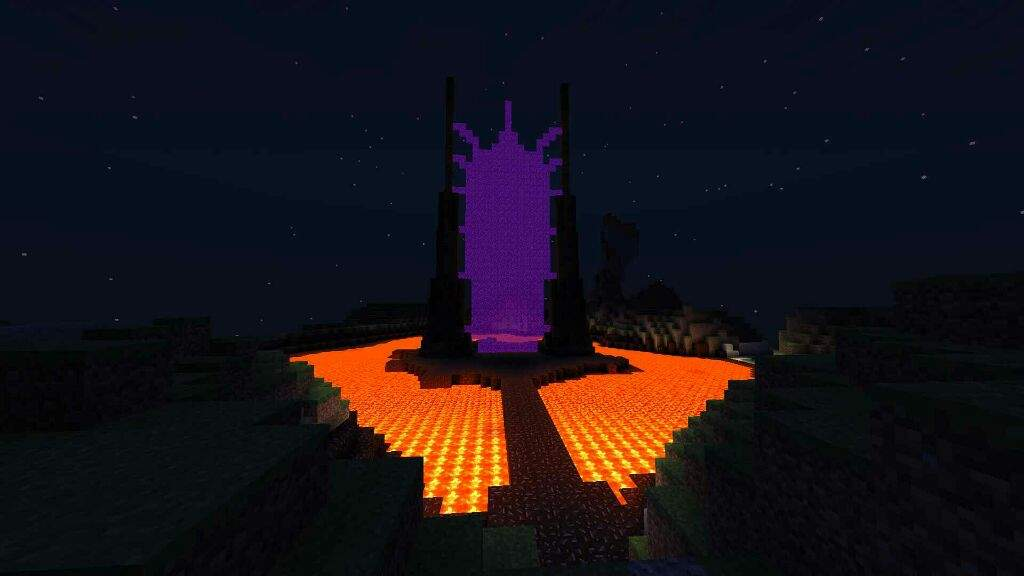 How To Craft An Nether Portal