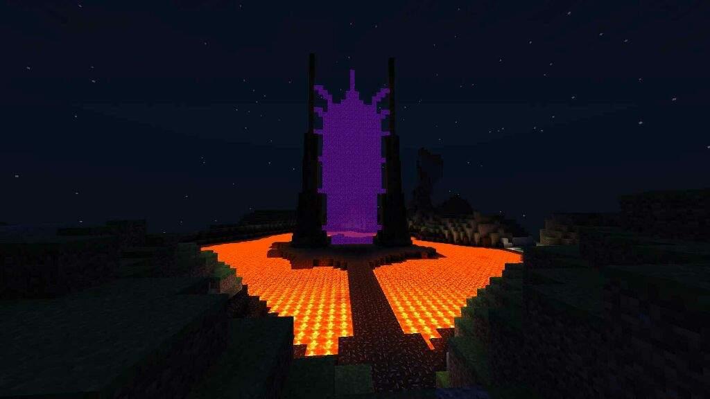 Craft Nether Portal