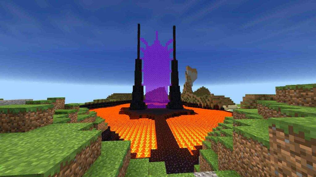 That Scary Nether Portal Minecraft Amino