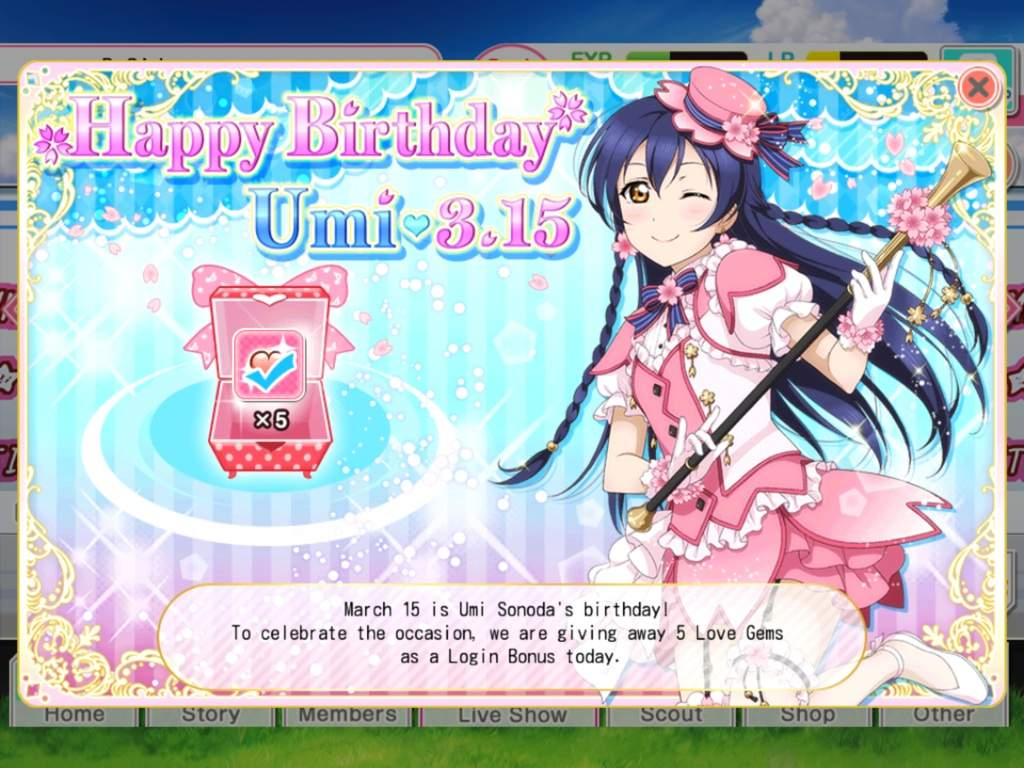 Love Live Sif En 315 Events New Cards Birthdays And White Day