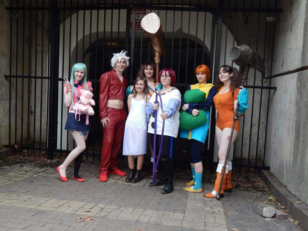The Seven Deadly Sins Cosplay Group Triad Anime con ...