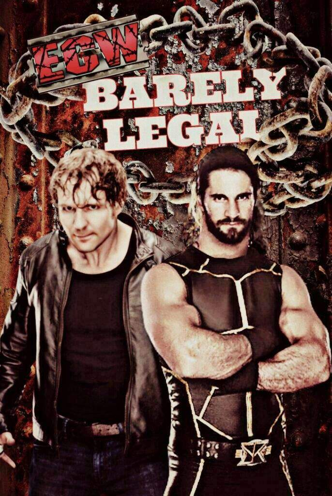 Barely Legal ECW PPV #1 (League) | Wrestling Amino