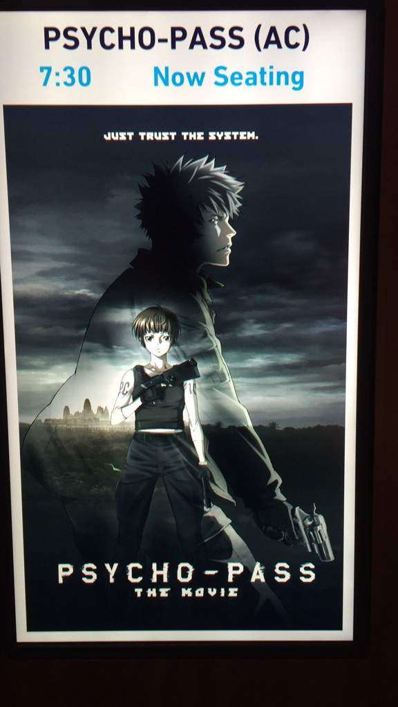 Psycho Pass The Movie Anime Amino