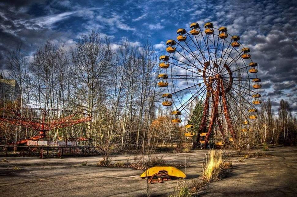 Image result for chernobyl amusement park